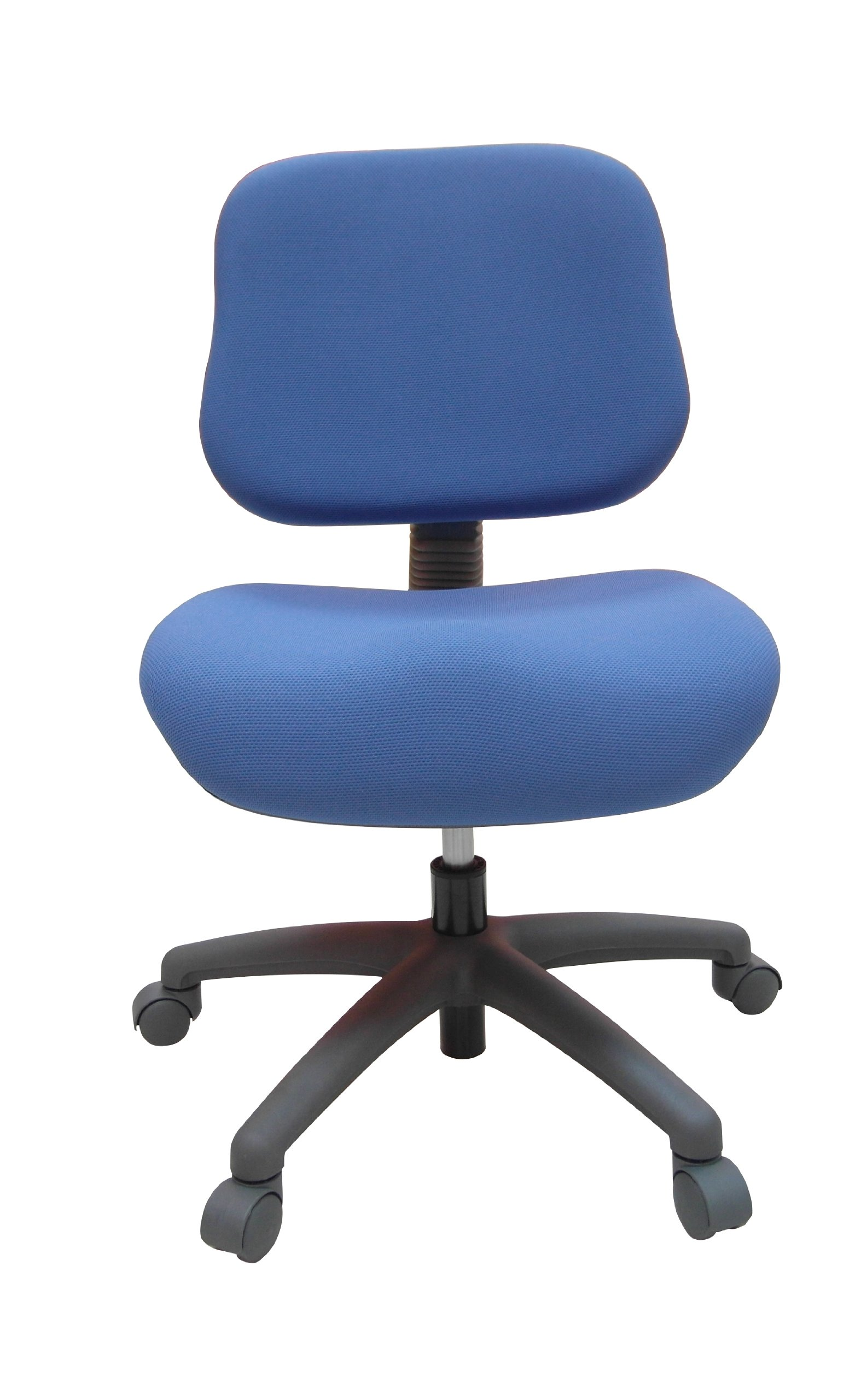ORE International S-408BLU Youth Comfortable Adjustable Chair with Castors, Blue