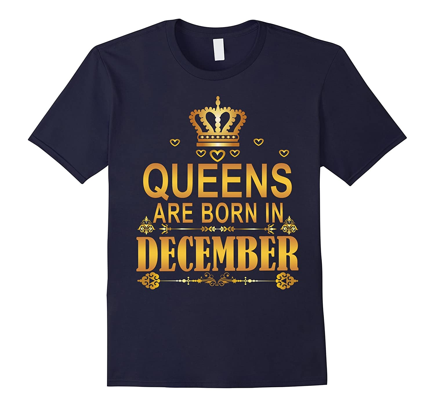 Queens Are Born In December Shirts-CD