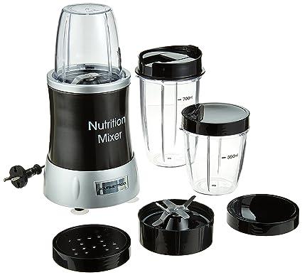 Gourmet Maxx 04201 Nutrition Licuadora Deluxe 11 piezas (1000 W extra power, 22.000 Rpm