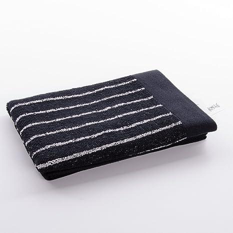 imabari negro toalla de mano