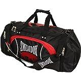 SMILODOX Sporttasche CLASSIC Strickerei mit großem RV- Hauptfach + Schultergurt