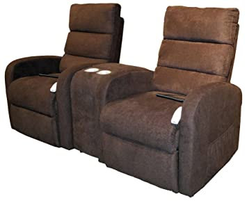 Serta Comfort Lift Alabama Lift Chair Reclining Console Loveseat   Java  (curbside Delivery)