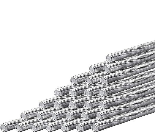 3//8-16 3 ft Inc Fully Threaded Rod Lancaster Threaded Products Length Aluminum 1 Each