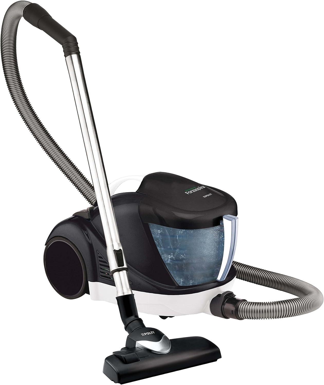 Polti Forzaspira Lecologico Allergy Aspirador sin bolsa, 1500 W, 1 Liter, 80 Decibelios, Aluminio, plástico, Blanco y negro: Amazon.es: Hogar