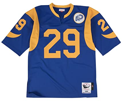 Image Unavailable. Image not available for. Color  Mitchell   Ness Eric  Dickerson Los Angeles Rams Authentic 1985 Blue NFL Jersey bb5b2b1fa