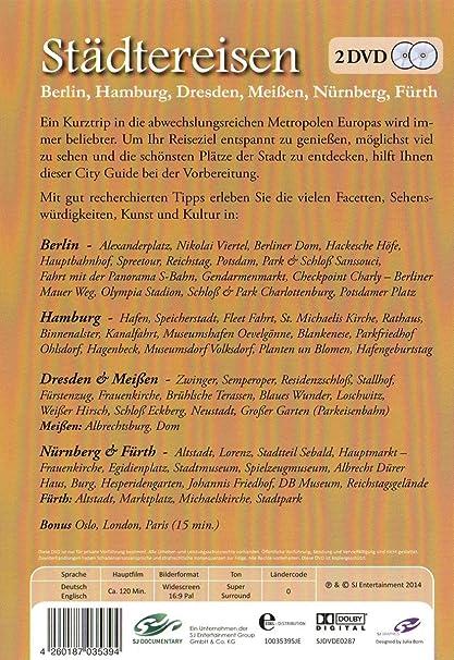 Amazon Com Stdtereisen Berlin Hamburg Dresden Uvm Import Anglais