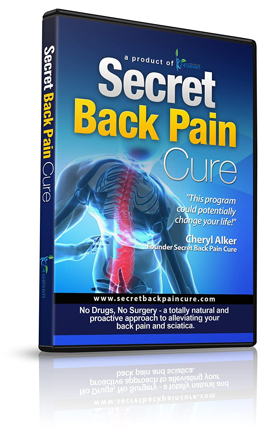 Back Pain Relief DVD By 24seven Wellness & Living, Say Goodbye to ...