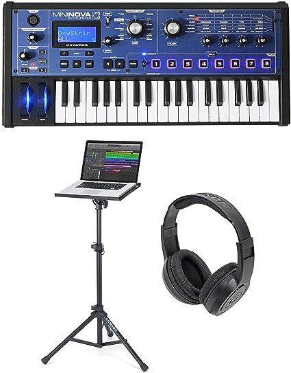 Novation MiniNova 37-key USB MIDI sintetizador teclado portátil + ...