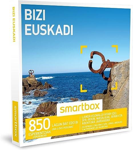 SMARTBOX - Caja Regalo - BIZI EUSKADI - 850 escapadas con cena o ...