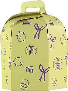 TusBlondas Caja de cartón Hexagonal para Tarta Alta - 25 Unidades ...