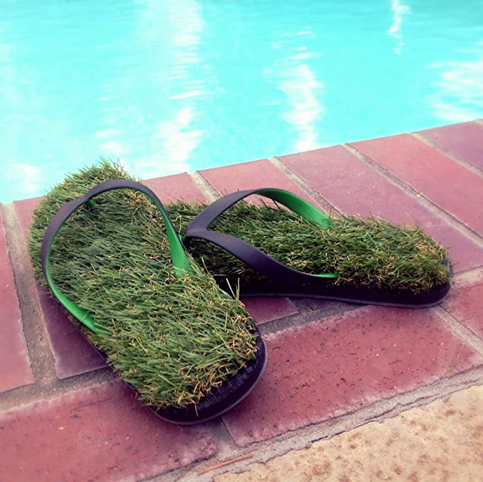 Grass Flip Flops come in two exciting styles!