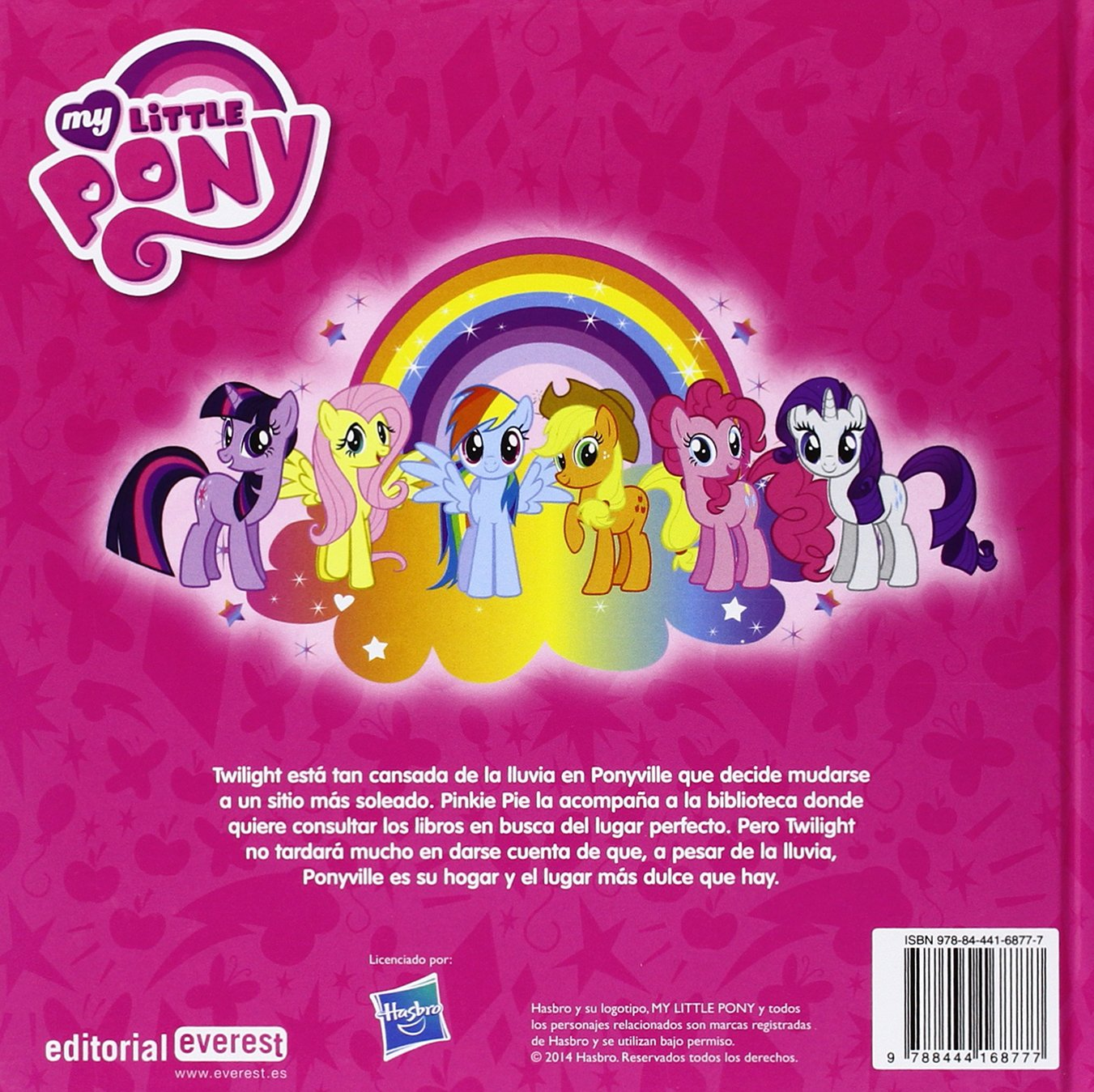 My Little Pony: Ponyville, dulce Ponyville: Barbara Galinska: 9788444168777: Amazon.com: Books