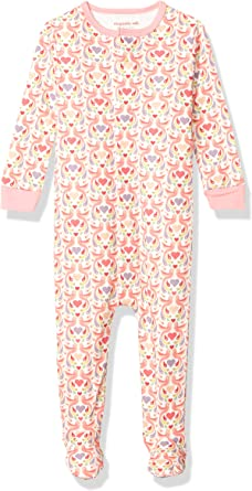 Magnificent Baby Girls Magnetic Footie