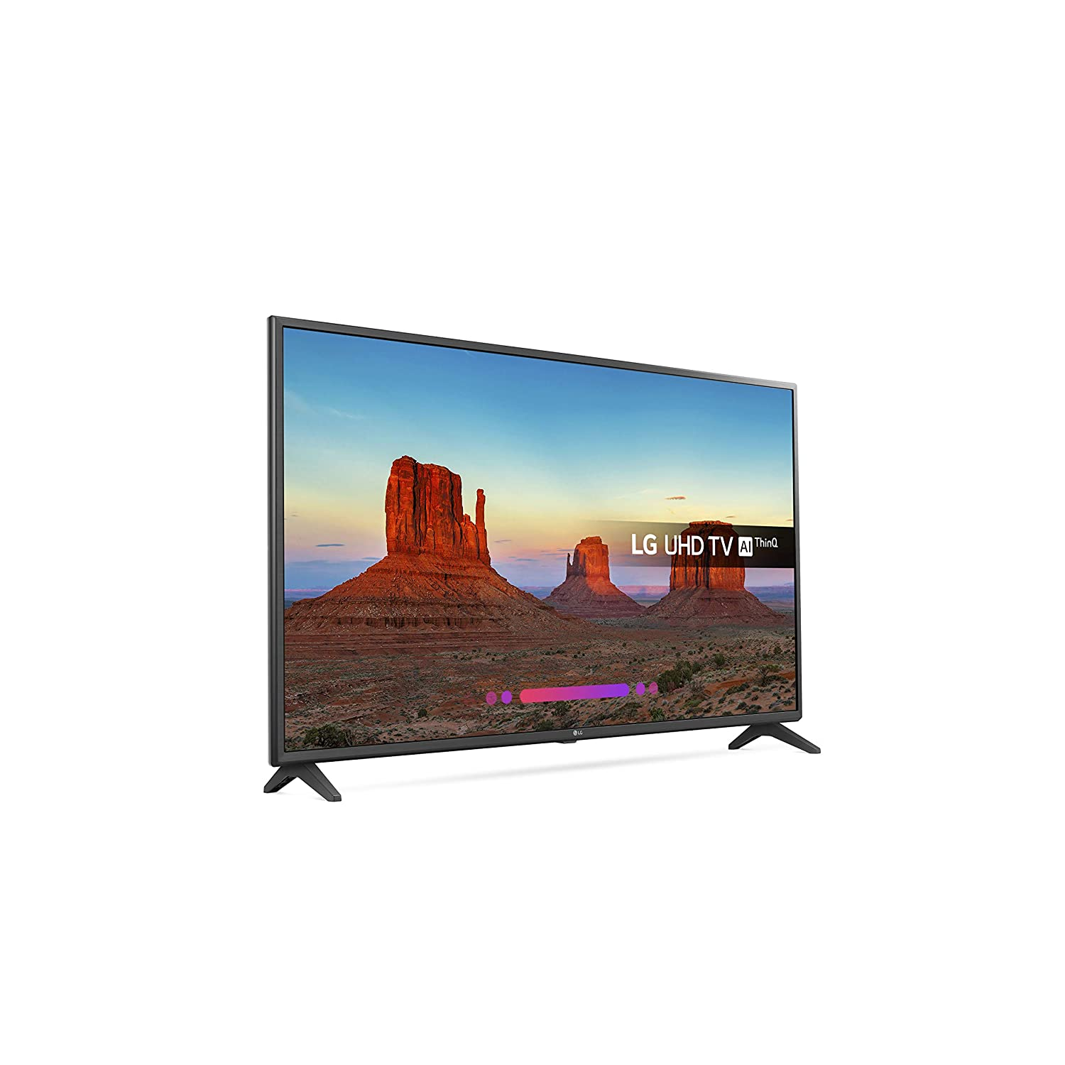 LG 49UK6200PLA 49-Inch 4K UHD HDR Smart LED TV with Freeview Play (2018  Model) - Black