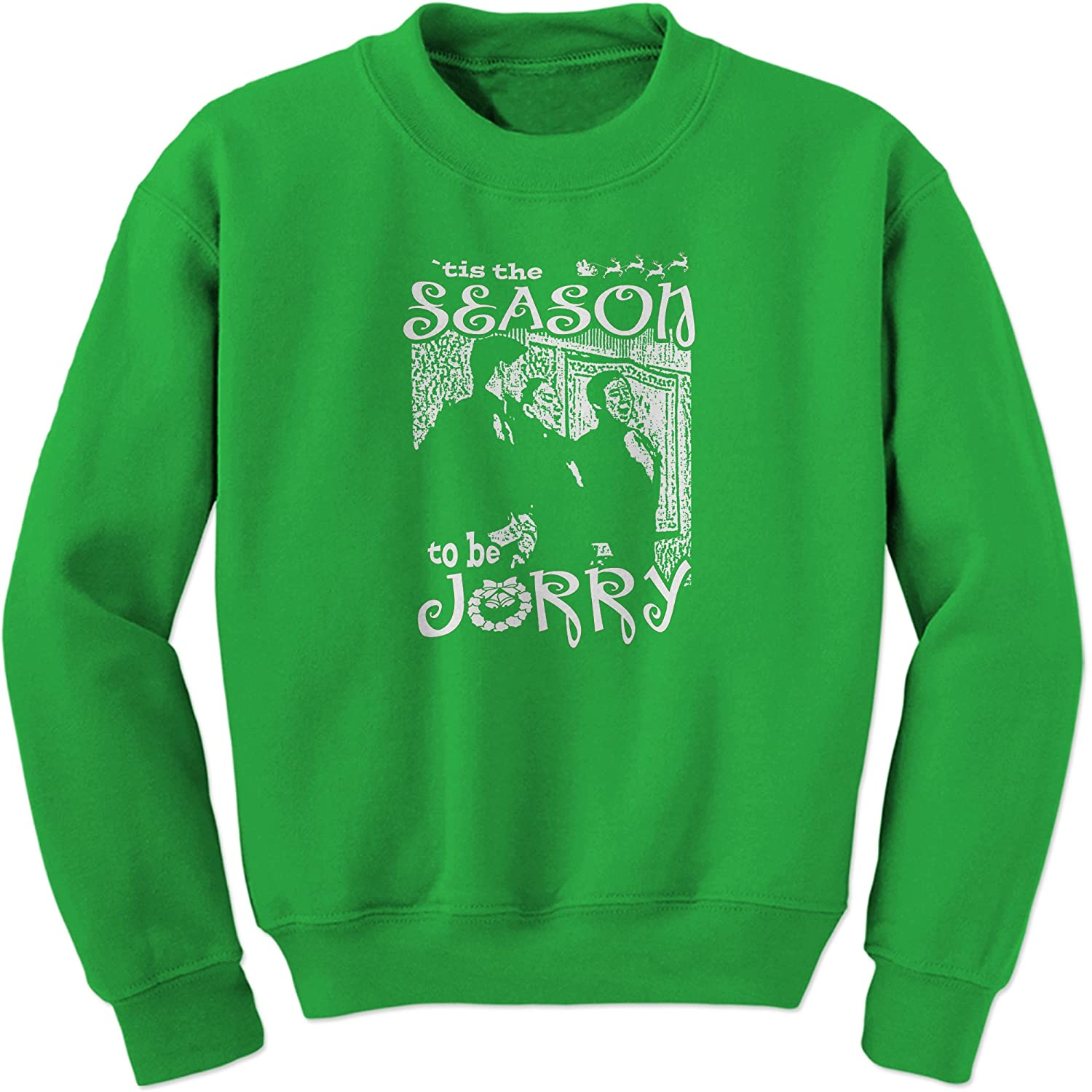 FerociTees A Christmas Story Tis The Season to be Jorry Crewneck Sweatshirt