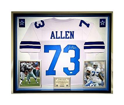 online retailer 2c7ff ed933 Premium Framed Larry Allen Autographed/Signed Dallas Cowboys ...
