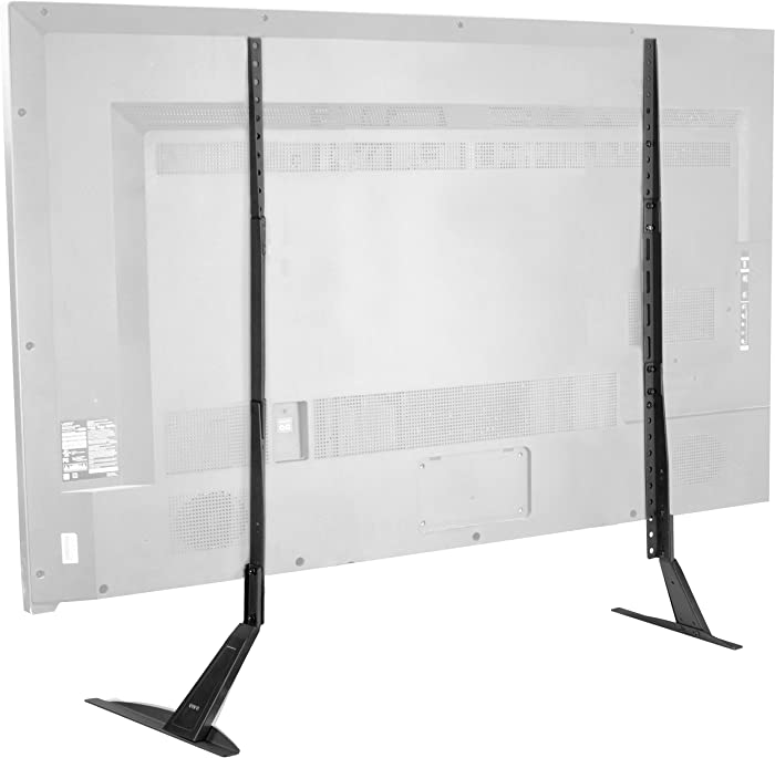 VIVO Extra Large TV Tabletop Stand for 27 to 85 inch LCD Flat Screens, Mount Base with VESA up to 1000x600mm (STAND-TV01T)