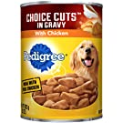 Pedigree Choice Cuts In Gravy With Chicken Adult Canned Wet Dog Food, (12) 22 Oz. Cans