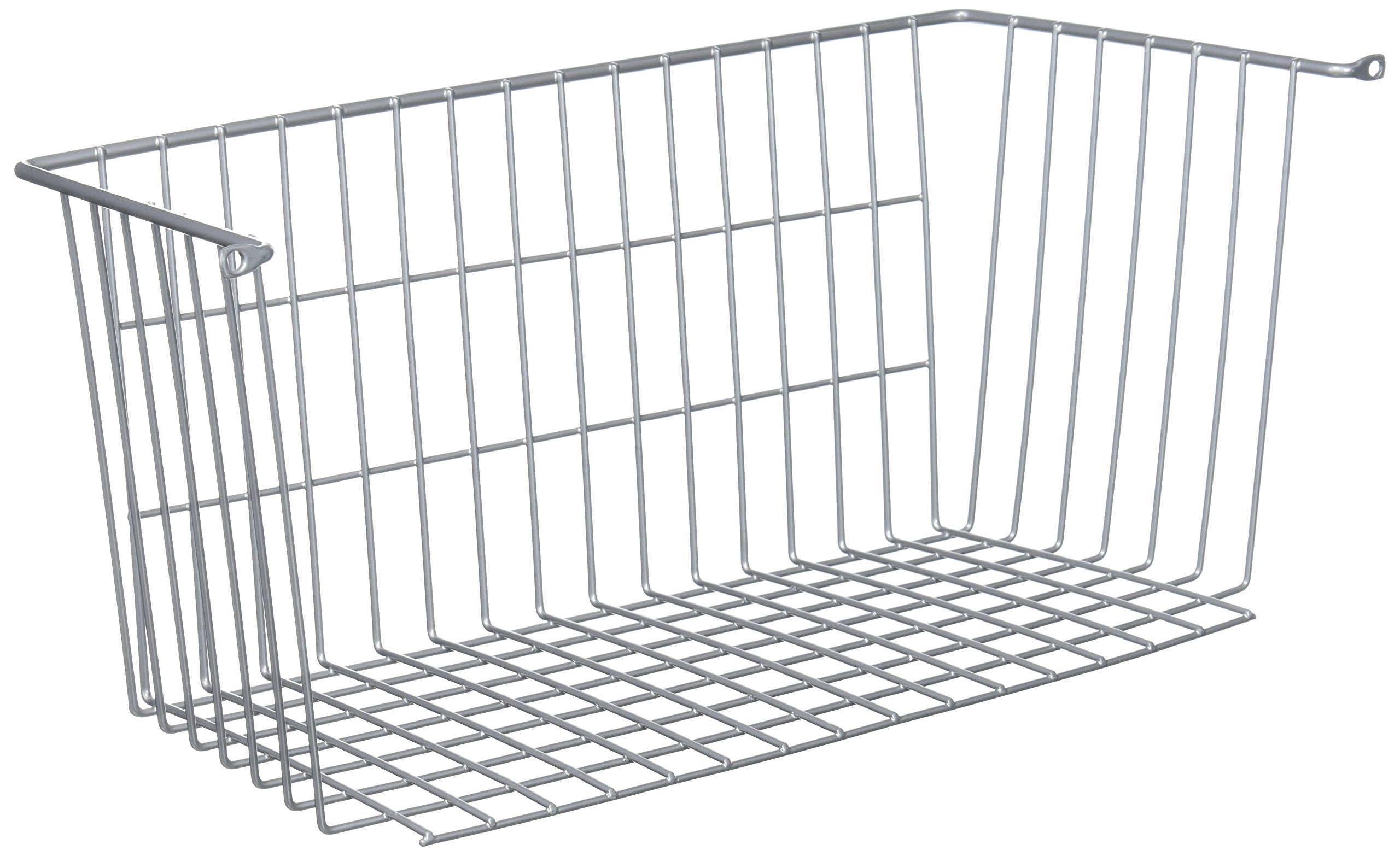 LTL Home Products More Inside Mountable Wire Basket, Large, Chrome