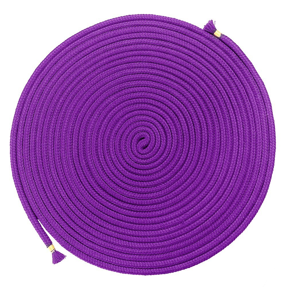 BONTIME All-Purpose Soft Cotton Rope - 32 Feet Length,1/3-Inch Diameter (Purple,Pack of 3) by BONTIME (Image #3)