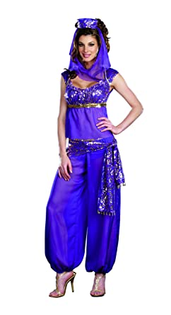 Dreamgirl Women's Ally Kazam Costume, Purple, X-Large