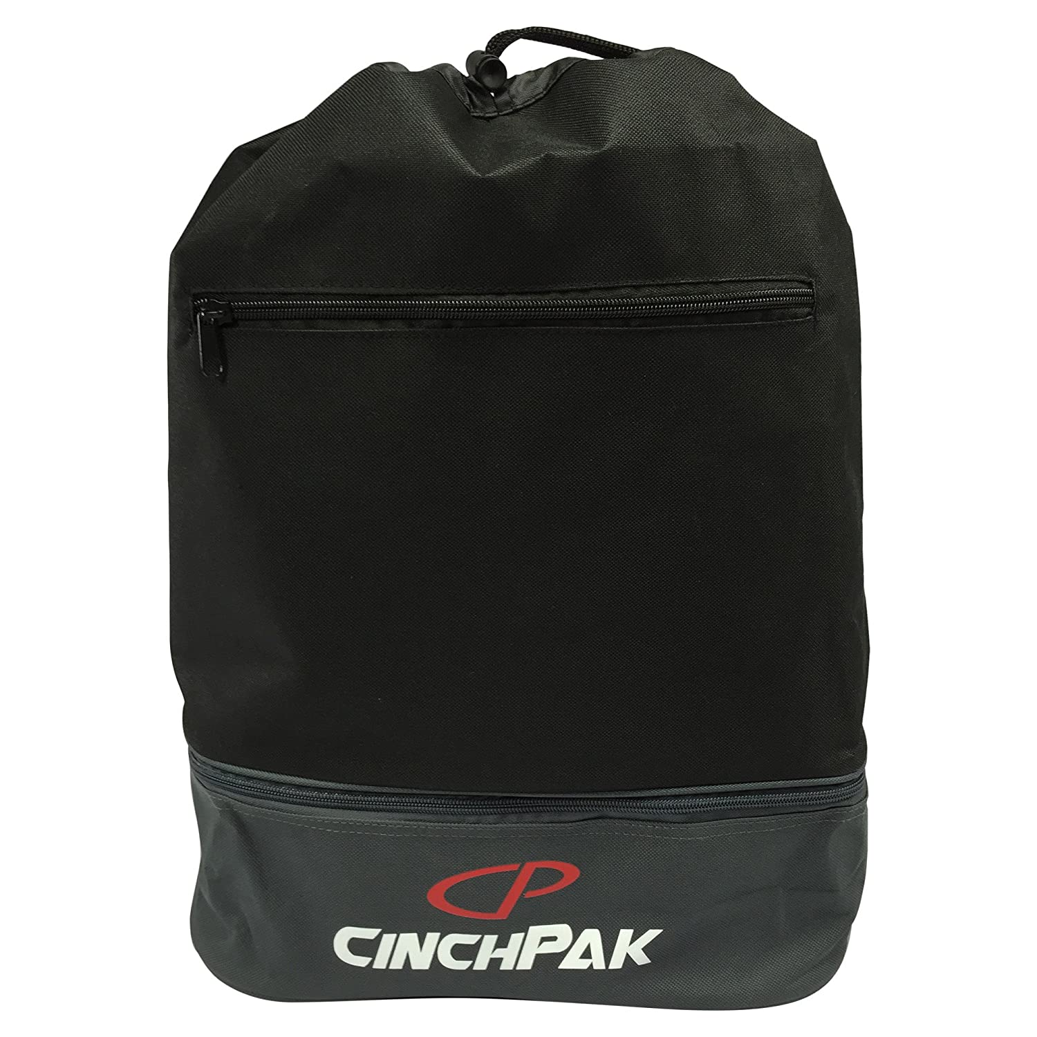 Cinch Pak Dual Compartment Drawstring Bag by Cinch Pak