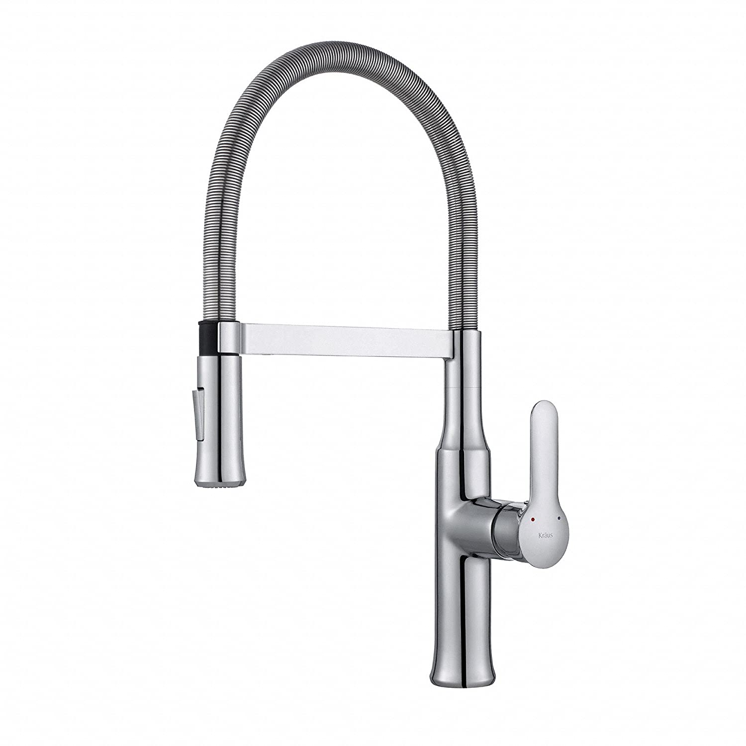 Kraus KPF 1640CH Modern Nola Single Lever Flex Commercial Style Kitchen  Faucet, Chrome     Amazon.com