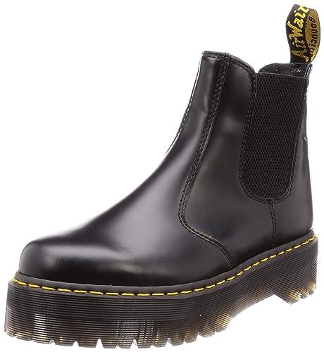 1712ba17fc5 DR. MARTENS Quad Black 2976-24687001  Amazon.es  Zapatos y complementos