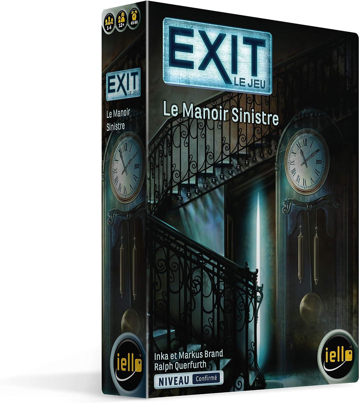 IELLO- Exit-Le Manoir Sinistre, 51621: Amazon.es: Juguetes y juegos
