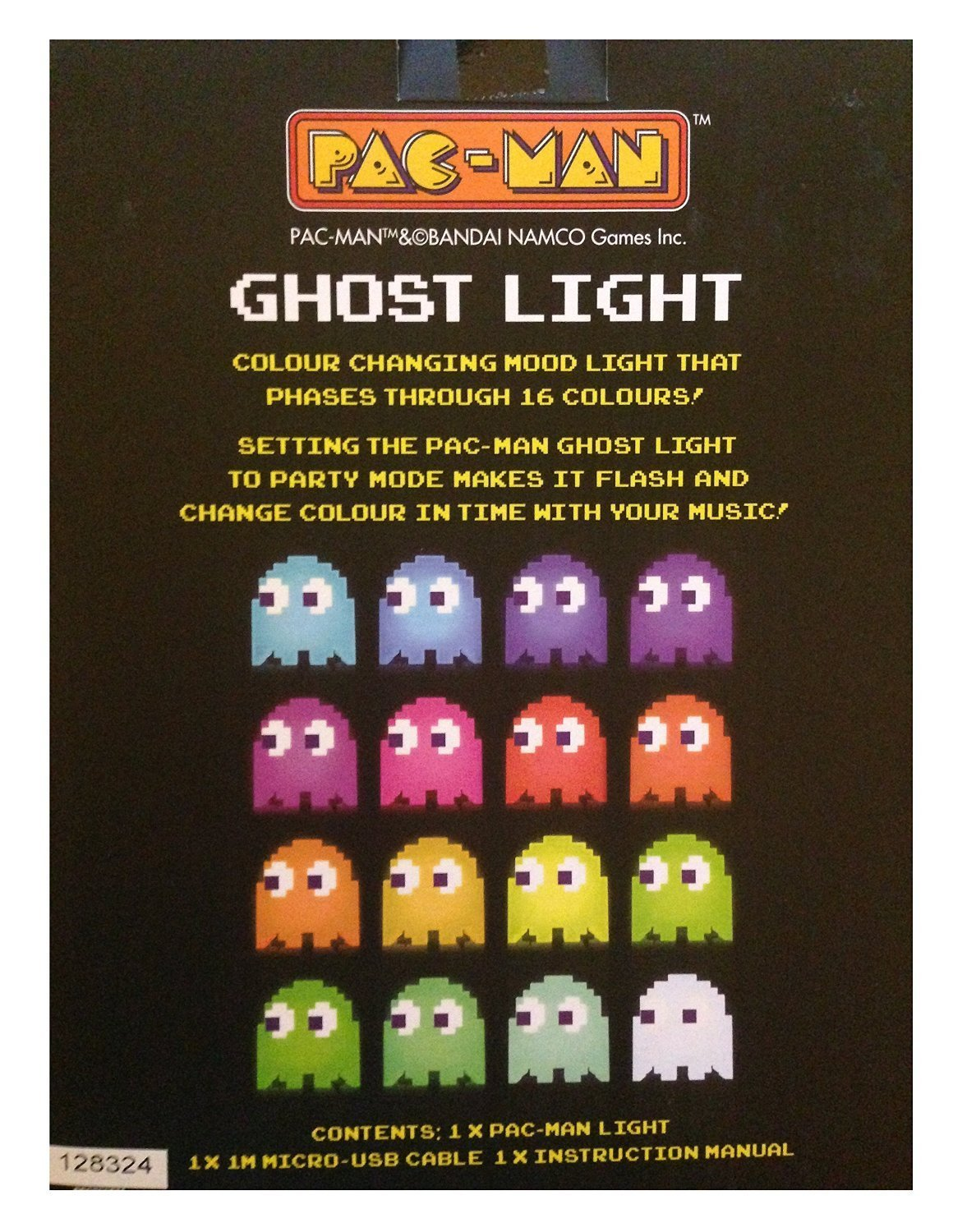 Paladone PacMan Ghost Light USB Powered Multi-colored Lamp  Amazon.ca  Toys    Games ddf493a865af