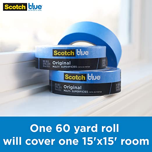 3M ScotchBlue 2090-2A - Cinta de carrocero (48 mm x 55 m): Amazon ...