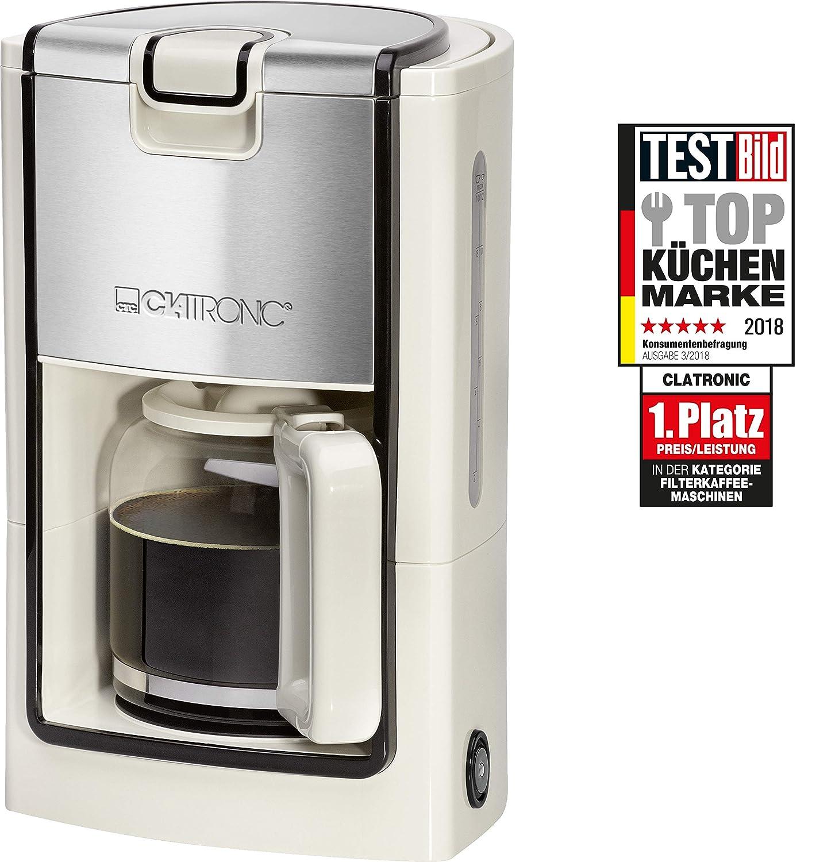 Clatronic KA 3558 Cafetera eléctrica de Goteo, Capacidad 8 a ...