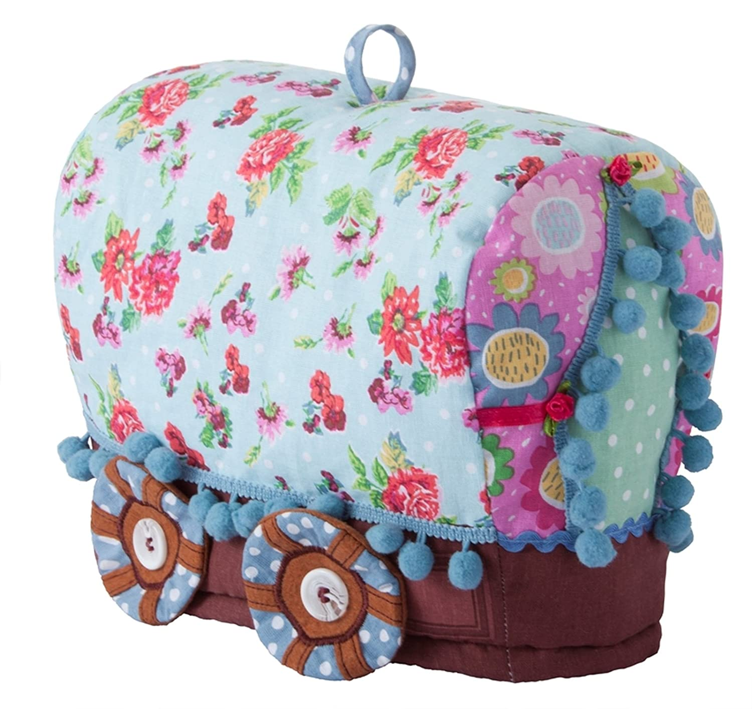 Gypsy Caravan Shaped Tea Cosy Ulster Weavers 7GYP04