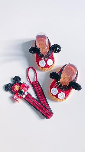 Set Mickey Mouse recién nacido | raton bebe | cadena de ...