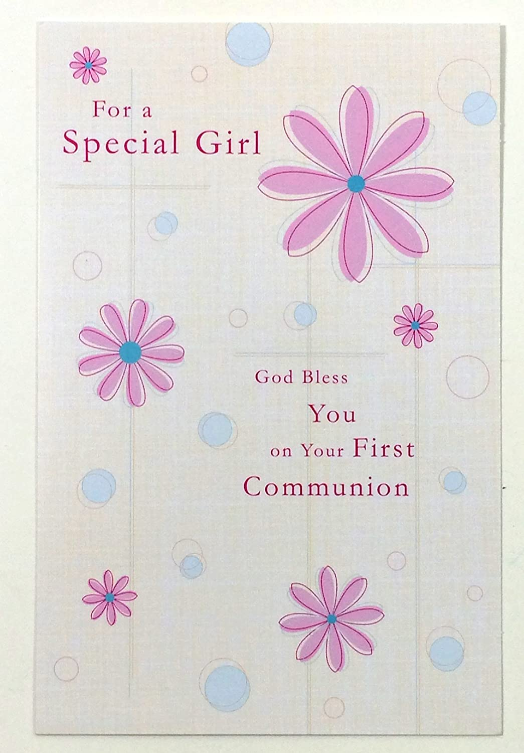 Amazon communion cards for girl for a special girl god bless amazon communion cards for girl for a special girl god bless you on your first communionamerican greetings ea health personal care kristyandbryce Choice Image