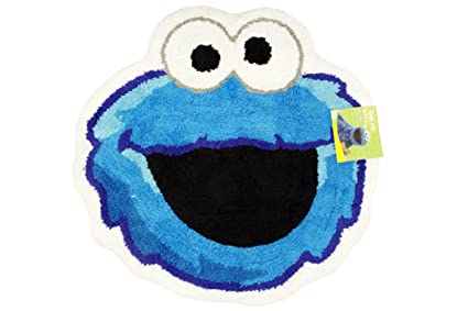 Sesame Street QuotPatchwork Bath Rug Cookie Monster