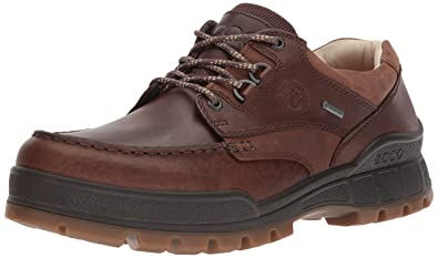 ECCO Men's Track 25 Premium Low Oxford, Cocoa Brown/Camel, 39 EU/