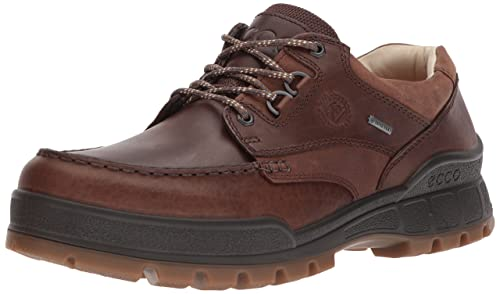 d18f47cba5 ECCO Men's Track 25 Premium Low Oxford, Cocoa Brown/Camel, 39 EU /
