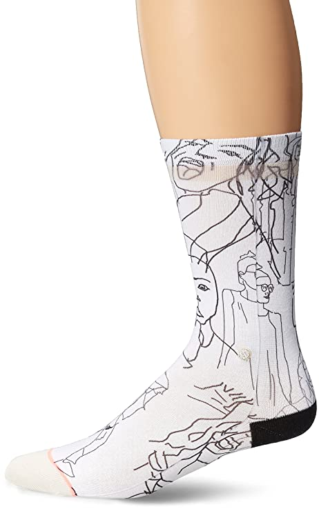 Stance mujer calcetines de las mujeres caras, Off White, talla única
