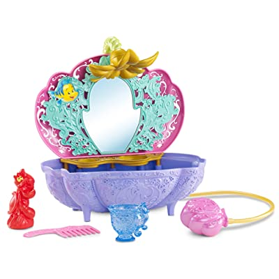 Disney Princess Ariel's Flower Shower Bathtub Accessory: Toys & Games