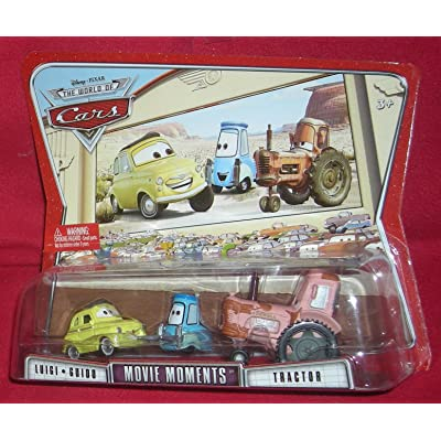 Cars Movie Moments Luigi, Guido & Tractor: Toys & Games