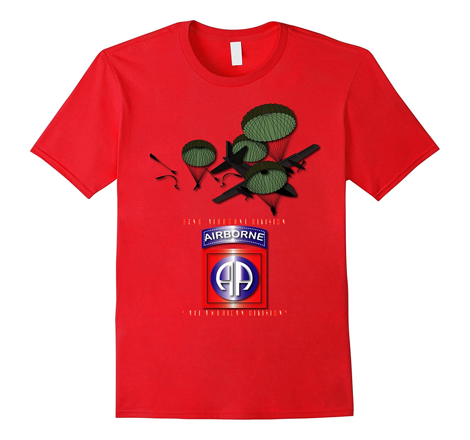 82nd Airborne Division - All American Division Tshirt-TH
