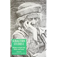 Subaltern Studies: Volumes 1-10 as a set: Writings on South Asian History and Society
