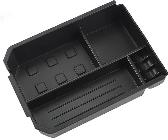 Amooca Car Center Console Armrest Box Glove Box Secondary Storage for 2012 2013 2014 2015 Toyota New RAV-4 RAV4