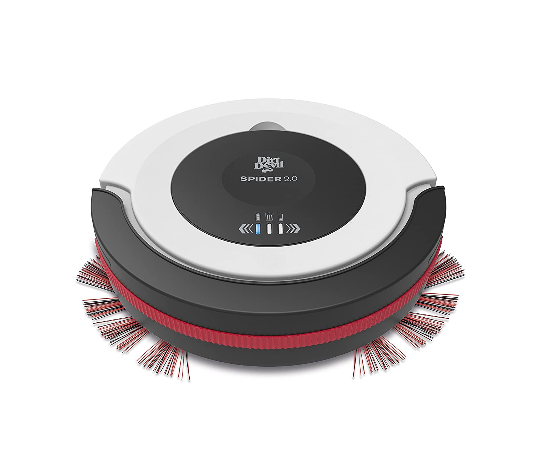 17 Decibel Rosso//Nero Dirt Devil Aspirapolvere Robot Spider 17 W