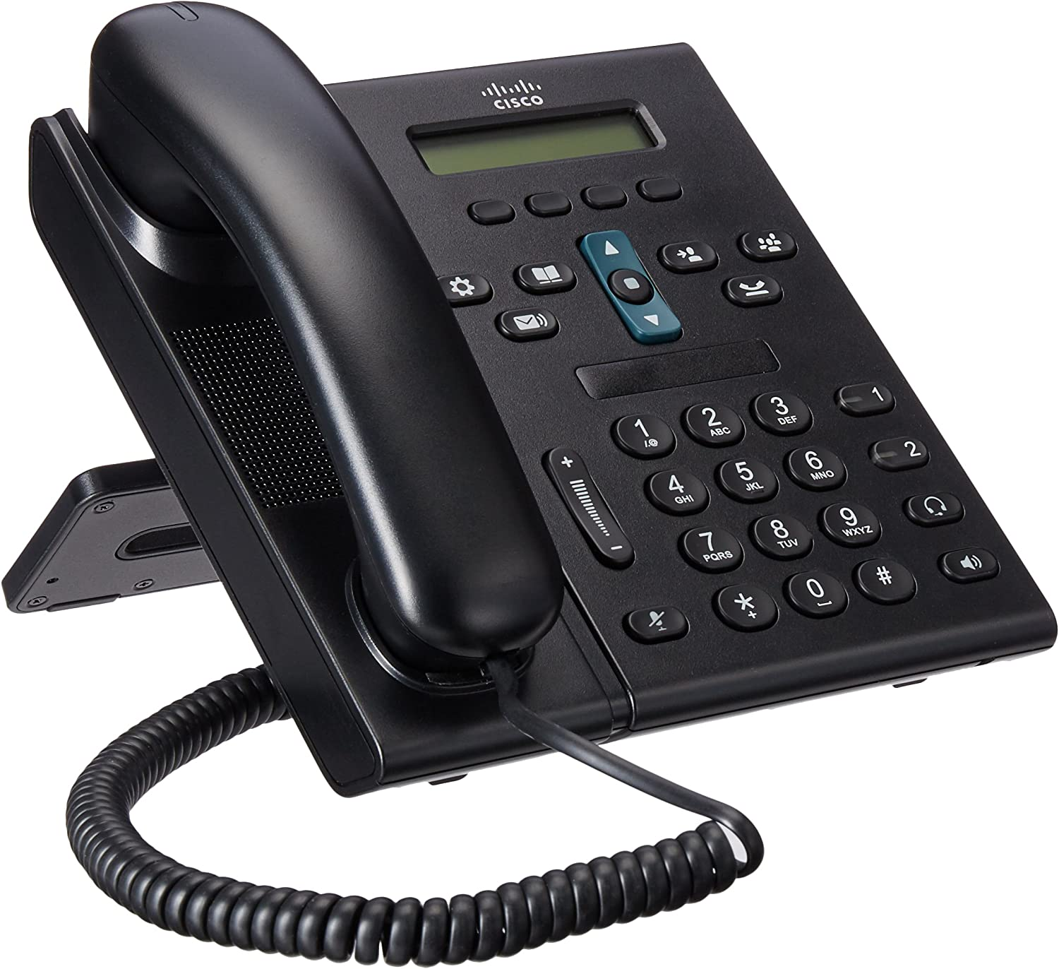 Cisco CP 69212-Line Office VoIP Phone (CP-6921-C-K9)