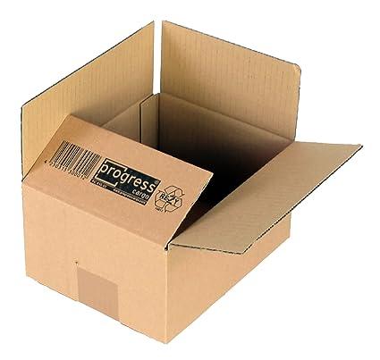 ProgressCargo PC K20.01 - Caja plegable de cartón corrugado (10 unidades, A5+