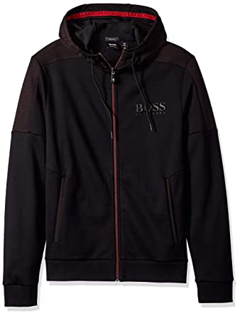 a767e88b6 Amazon.com: Hugo Boss Men's Saggy Basic Double Face Hoodie: Clothing