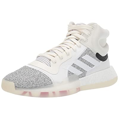 adidas Marquee Boost, Off White/White/Solid Grey, 9.5 M US | Fashion Sneakers