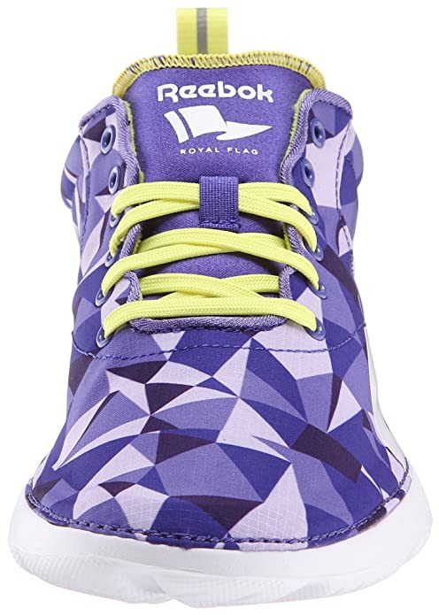 Womens Royal Simple Fashion Sneaker,Purple Oasis/Purple Vibe/Ultima Purple/High Vis Green/White,11 M US Reebok